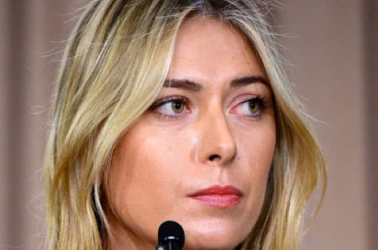 Maria Sharapova drug test
