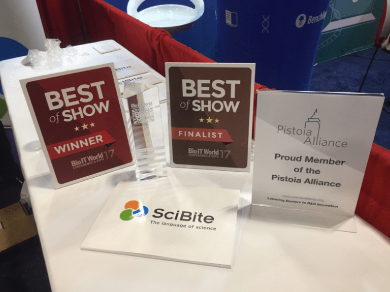 Best of Show awarded to SciBite at Bio IT World 2017