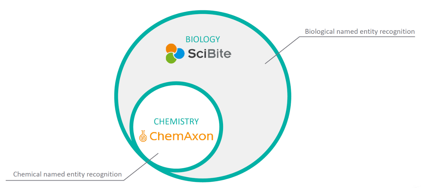 Extending ChemLocator's chemical named entity recognition with SciBite's biological named entity recognition